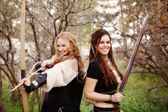 Amy and Rachel